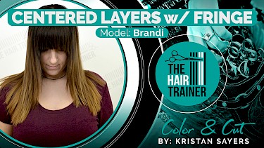 Brandi: Brandi: Centered Layers with Fringe Cut