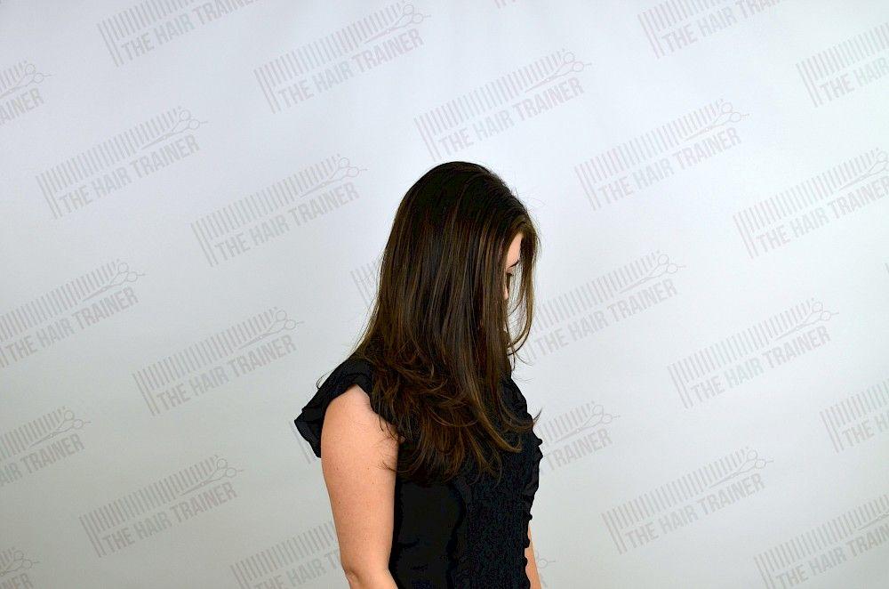Long Haircut with Short Layers & Face Framing