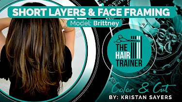 Brittney: Brittney: Long Haircut with Short Layers & Face Framing
