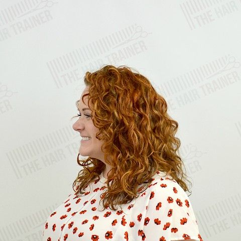 Monee: Rounded Long Layer for Curly Hair - By Kristan Sayers (via The Hair Trainer)