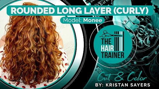Monee: Rounded Long Layer for Curly Hair